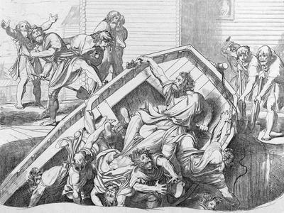 Olga's Avenge to the Drevlians, before 1839