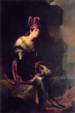 Portrait of Princess Zinaida Alexandrovna Volkonskaya (1792-186) in the Habit of Tancred