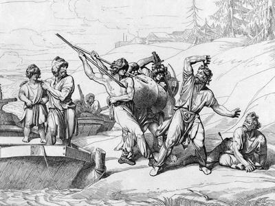 The Death of Askold and Dir, before 1839