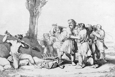 The Death of Grand Duke Oleg, before 1839