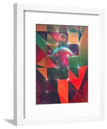 fyyl'd hyr-Spires-Framed Art Print