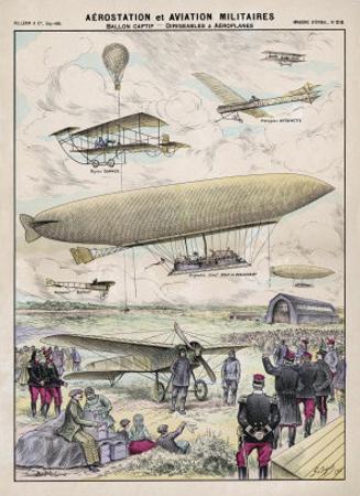 Various Aircraft 1912 by G. Bigot