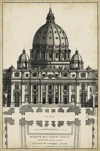 Basilica at the Vatican by G. de Rossi