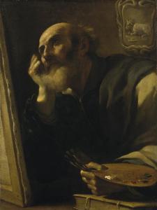 St. Luke, the Evangelist by G. Francesco Barbieri