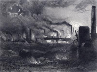 The Black Country Near Bilston, Staffordshire, 1869