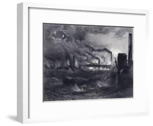 The Black Country Near Bilston, Staffordshire, 1869 by G Greatbach