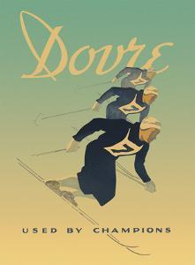 Dovre Ski Binding Company - Used by Champions by G. Hansen