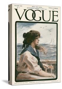 Vogue Cover - July 1907 by G. Howard Hilder