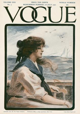 Vogue Cover - July 1907