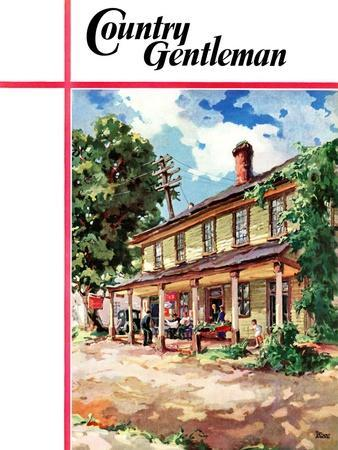 """Country Inn,"" Country Gentleman Cover, September 1, 1939"