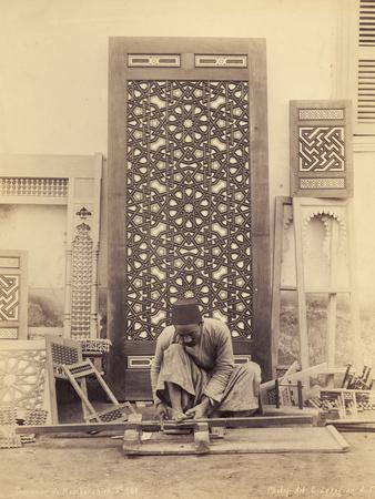Wood Turning, Egypt, C.1870-90
