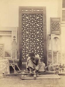 Wood Turning, Egypt, C.1870-90 by G. Lekegian
