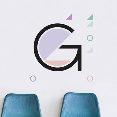 G Letter Wall Decal--Wall Decal
