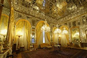 Brilliant Hall, Golestan Palace, Tehran, Islamic Republic of Iran, Middle East by G&M Therin-Weise