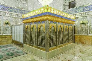 Emamzadeh Zeyd Mausoleum, Holy Shrine, Tehran, Islamic Republic of Iran, Middle East by G&M Therin-Weise