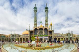 Hazrat-e Masumeh, Shrine of Fatima al-Masumeh, Qom, Iran, Middle East by G&M Therin-Weise