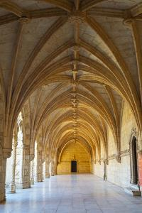 Manueline Ornamentation in the Cloisters of Mosteiro Dos Jeronimos (Monastery of the Hieronymites) by G&M Therin-Weise