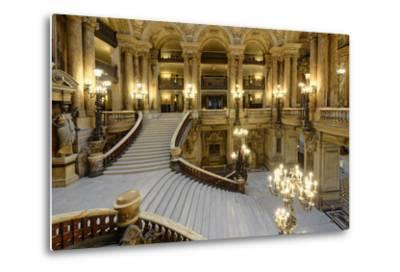 Opera Garnier, Grand Staircase, Paris, France