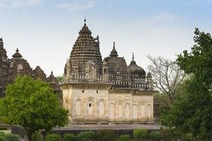 Parvati temple with architectural elements of three religions, Islam, Buddhism and Hinduism, India by G&M Therin-Weise