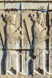 The Tachara, Persepolis, Fars Province, Islamic Republic of Iran, Middle East by G&M Therin-Weise