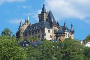 Wernigerode Castle, Harz, Saxony-Anhalt, Germany, Europe by G & M Therin-Weise