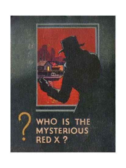 G-Man Vs the Red X Book Back Cover--Giclee Print
