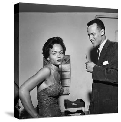 Eartha Kitt and Harry Belafonte