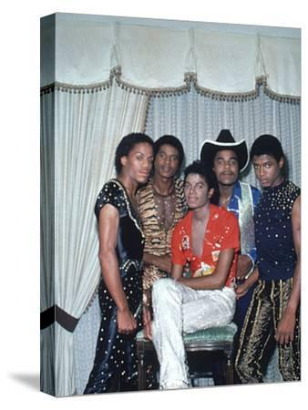 Michael Jackson and brothers, 1981