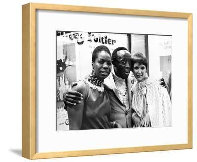 Nina Simone, Godfrey Cambridge, and Jane Saxon - 1968