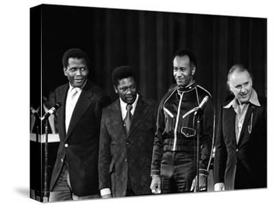 Raymond St. Jacques, Sidney Poitier B.B. King, Rod Steiger - 1973