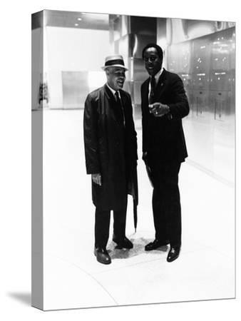 Roy Wilkins, Vernon Jordan - 1974