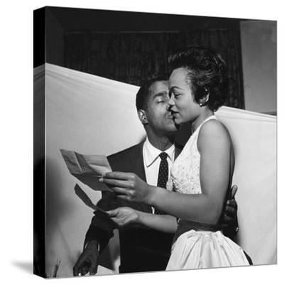 Sammy Davis Jr., Eartha Kitt - 1954