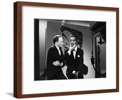 Sammy Davis Jr., Frank Sinatra