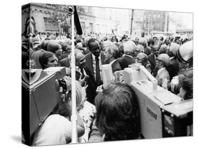 Vernon Jordan, Walter Mondale, Benjamin Hooks -  1981
