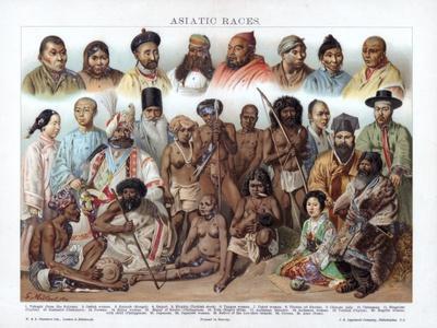 Asiatic Races, 1800-1900
