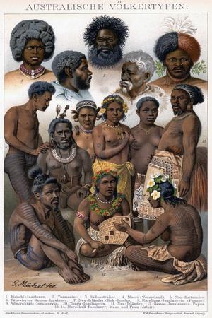 Australian Inhabitants, 1800-1850
