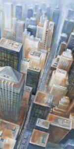 Manhattan from the Clouds II by G^p^ Mepas