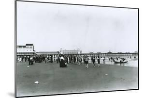 Atlantic City Beach, New Jersey by G.P. & Son Hall