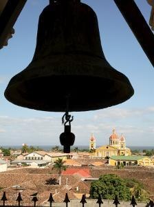 Cathedral from La Merced Belltower, Granada, Nicaragua, Central America by G Richardson