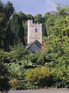Church, St. Just in Roseland, Cornwall, England, UK by G Richardson
