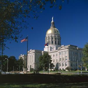 Exterior of the Georgia State Capitol Building, Atlanta, Georgia, United States of America (USA) by G Richardson