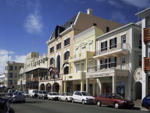 Front Street, Hamilton, Bermuda, Central America by G Richardson