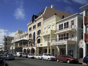 Front Street, Hamilton, Bermuda, Central America by G Richardson