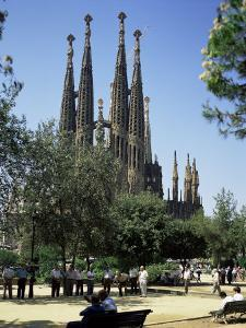 Gaudi's Sagrada Familia, Barcelona, Catalonia, Spain by G Richardson