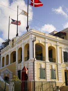 Government House, Christiansted, St.Croix, U.S. Virgin Islands by G Richardson