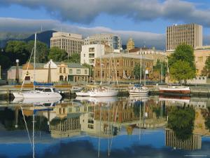 Hobart Harbour, Tasmania, Australia by G Richardson
