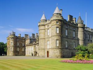 Holyrood House, Edinburgh, Lothian, Scotland by G Richardson