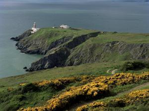 Howth Head Lighthouse, County Dublin, Eire (Republic of Ireland) by G Richardson