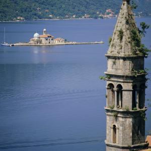 Kotor Bay Seen from Perast, Montenegro, Europe by G Richardson