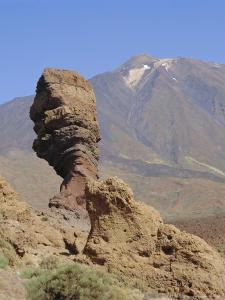 Mount Teide from Los Roques, Tenerife, Canary Islands, Spain by G Richardson
